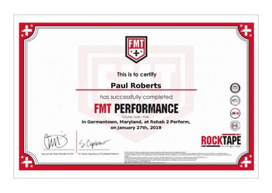FMT Advanced Certification