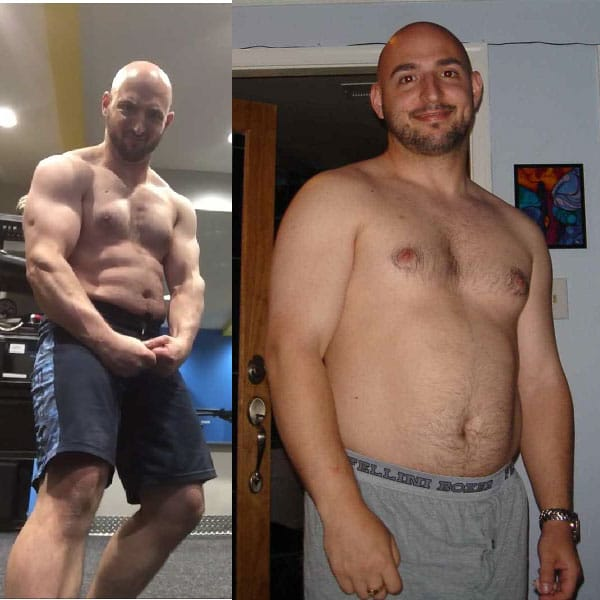 Coach Paul Before and After