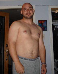 Paul 28 percent bodyfat
