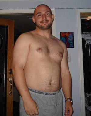 Yep this me ... in all my glory at 30% bodyfat. Self-Conscious with High Cholesterol