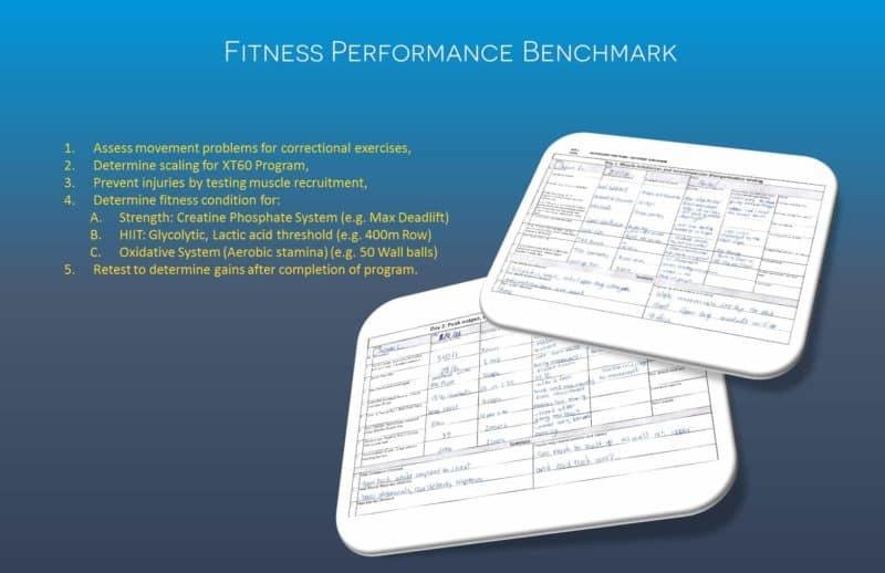 Fitness Performance Benchmark