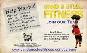 Help Wanted Person Trainer Certification Job