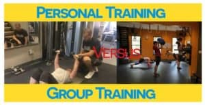 Personal Training Vs Group Fitness Class