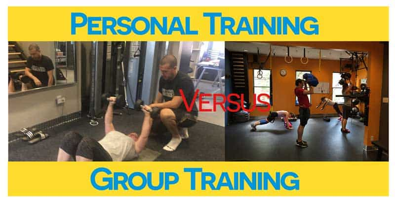 Personal Training Versus Group Training and CrossFit