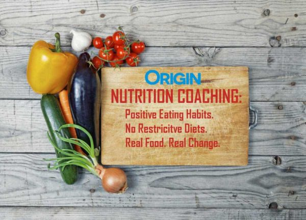Origin Nutrition Coaching Alexandria VA Meal Planning