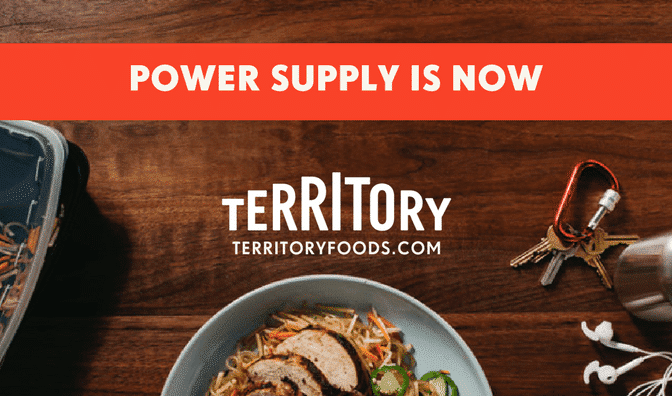 Territory Foods Power Supply Meal Delivery Service