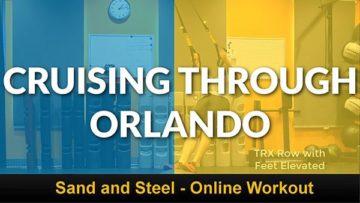 Cruising Through Orlando Workout Cover