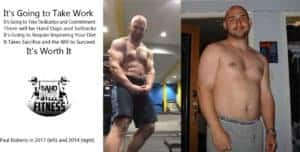 Paul Before and After Body Fat Transformation