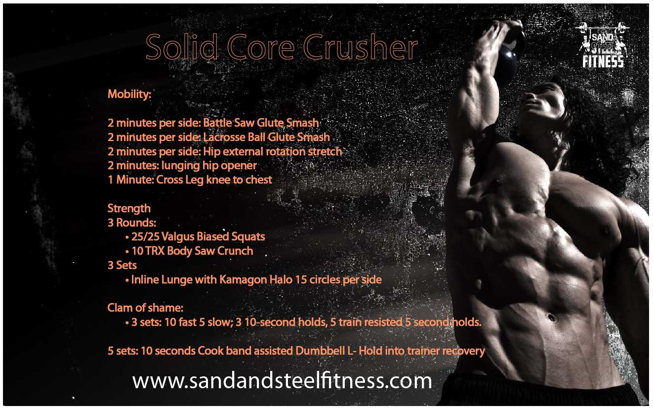 Core Glutes Mobility Workout