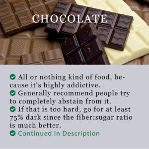 Chocolate Bar Health Information