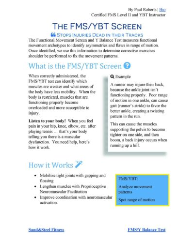 FMS YBT Research Paper