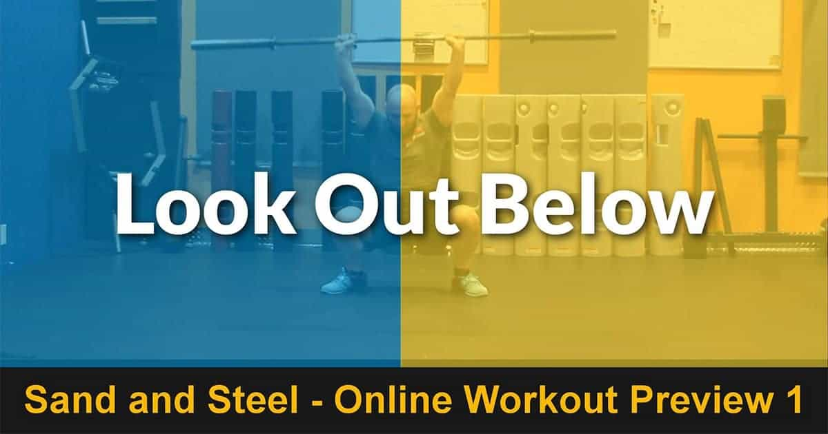 Lookout Below - Workout Look Out