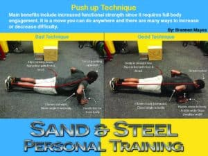 Push up is a great bodyweight exercise