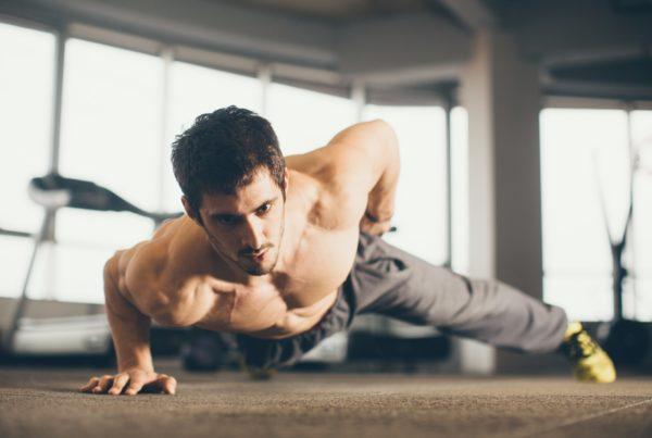 bodyweight exercise 1 arm push up