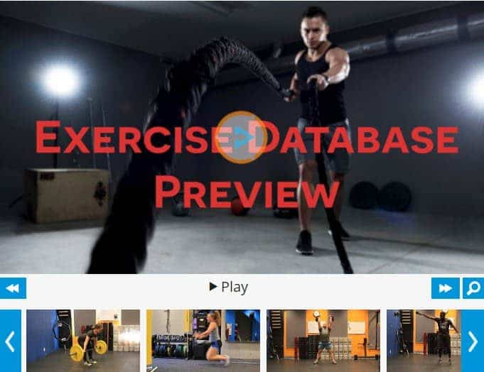 Exercise Database - Strength Training Equipment