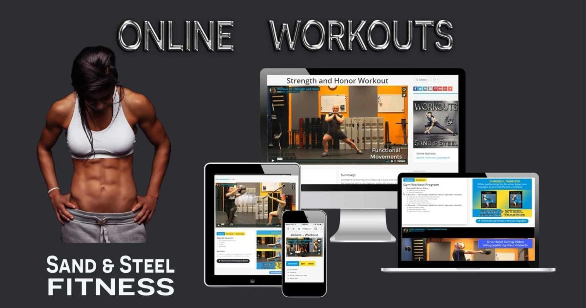 Online Workouts and Exercises Program