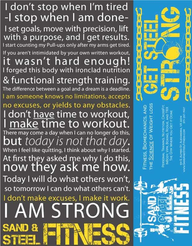Personal Training and Fitness Motivation