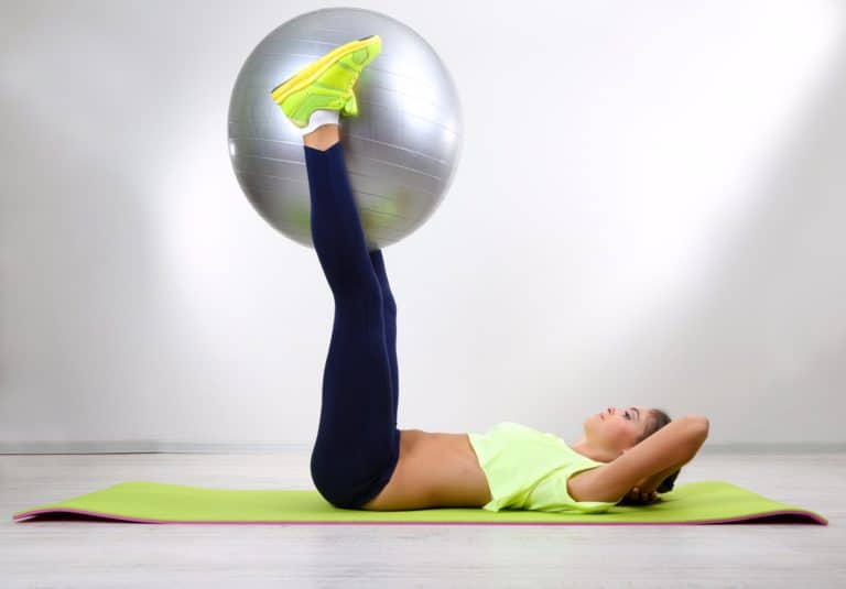 How to be Flexible for Beginners Warmups and Stretches Swiss Ball
