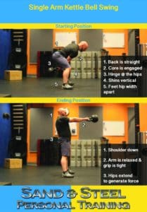 Kettlebell Swing Strength Training Alexandria VA