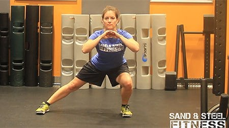 Maggie Side-Lunge 450 Wide Screen