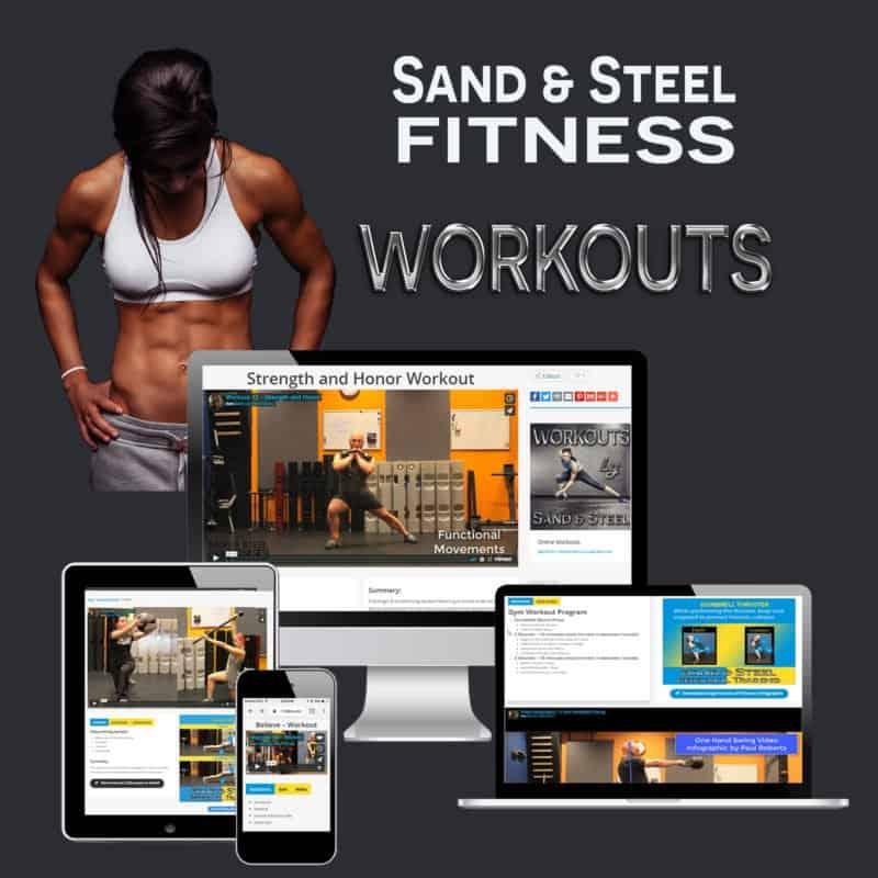 Online Workouts Programs Logo