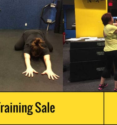 Personal Training Sale