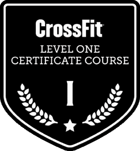 CrossFit Level 1 Certification Certified Certificate