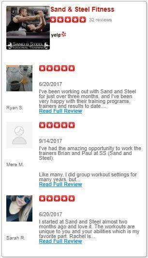Personal Training Reviews Yelp