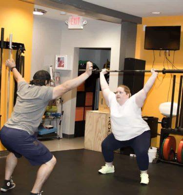 Personal Training Overhead Squat