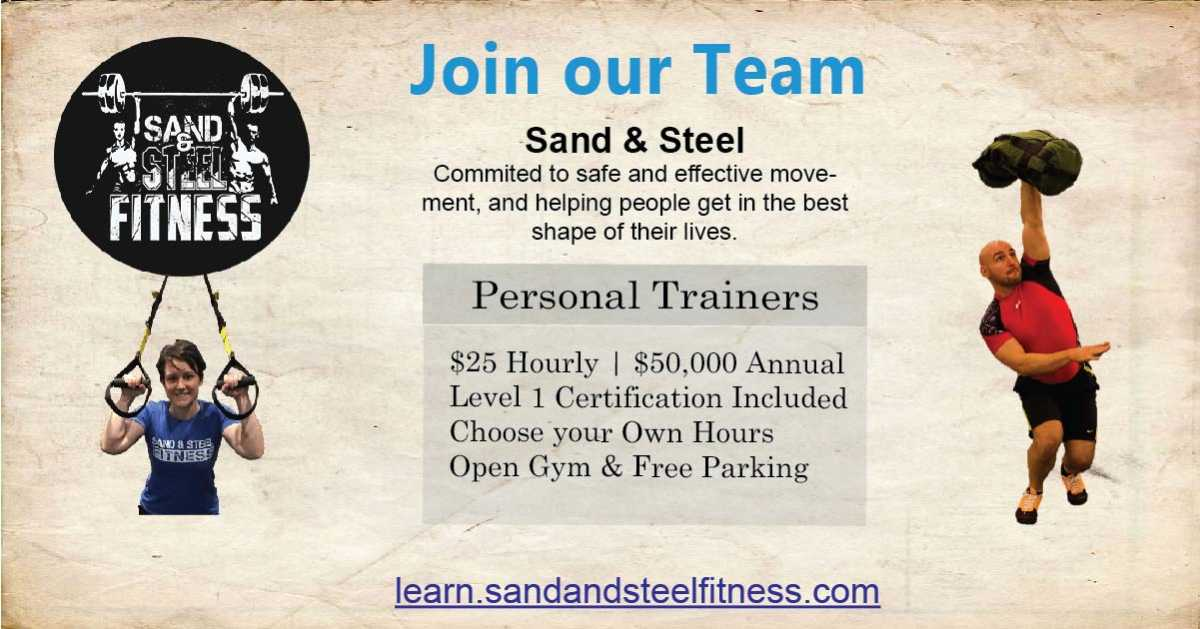 Help Wanted Person Trainer Certification Job 4