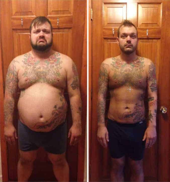Before And After Weight Loss Transformation Photos Sand And Steel