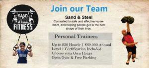 Personal Trainer Job Alexandria