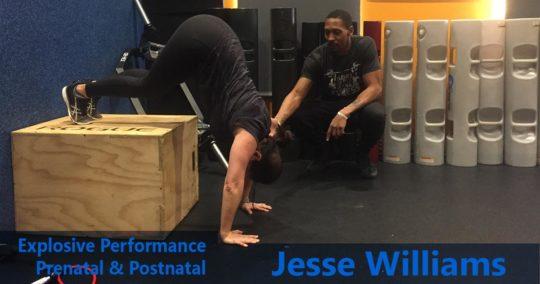 Jesse WIlliams Explosive Performance
