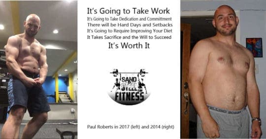 Paul Before and After Fitness Transformation