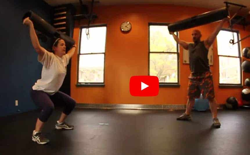 Sara Vipr Overhead Press Transformation Before and After