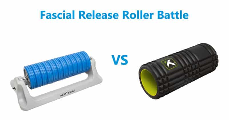 Fascial Release Roller Battle MWOD vs Trigger Point