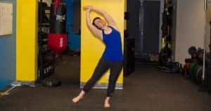 One-legged Standing Crescent Pose - Eka Pada Indudalasna - Private Yoga Lessons