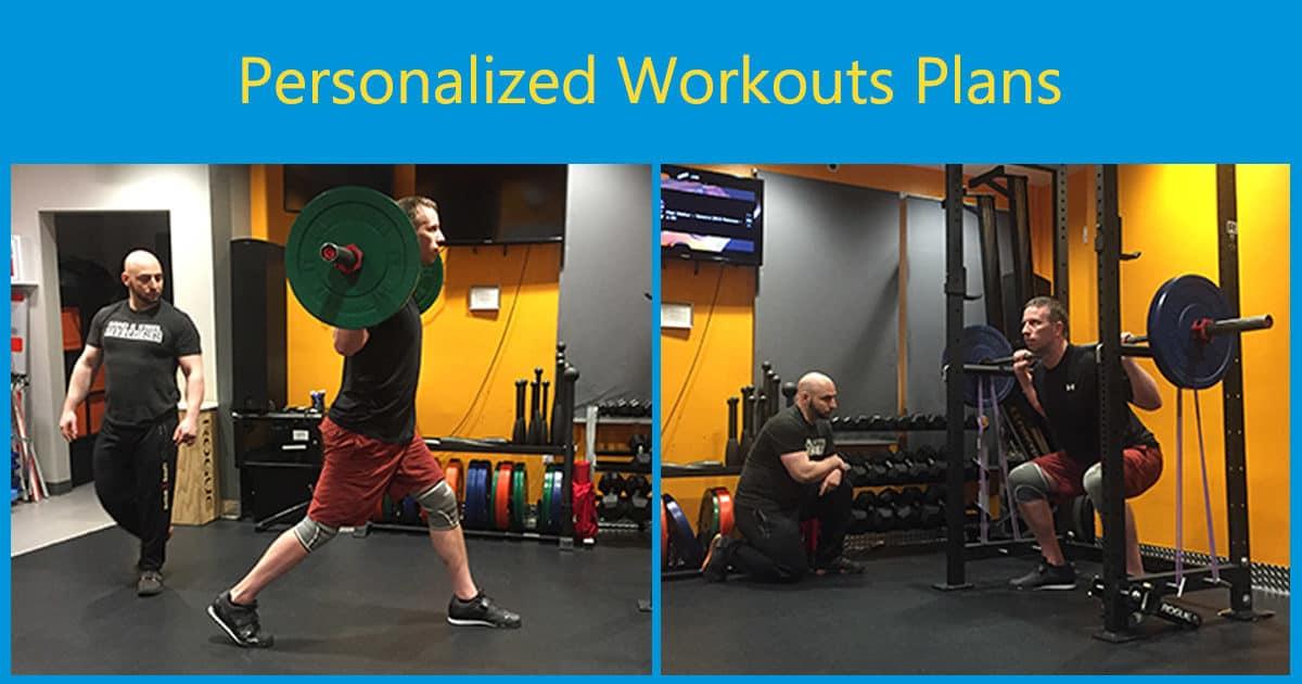 Personalized Workout Program Plan