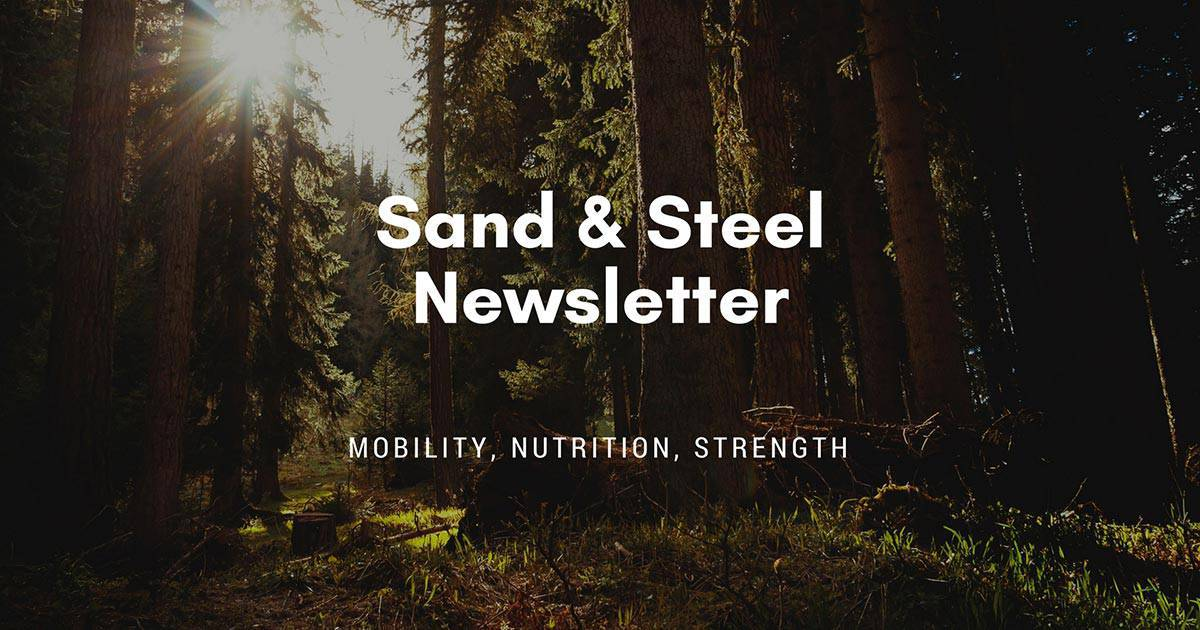 Mobility Nutrition Strength Newsletter