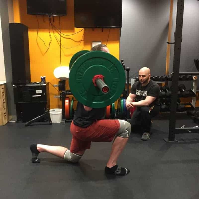 Steven Olympic Lifting Lunge