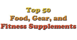 Top 50 Food Gear and Fitness Supplements