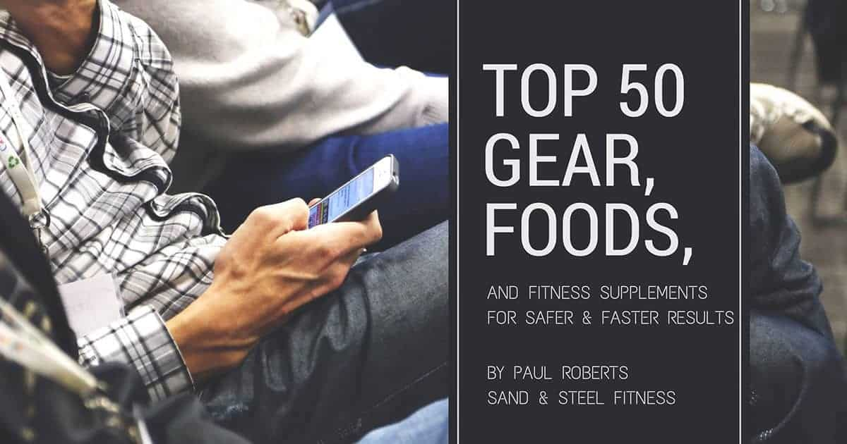 Top 50 List Fitness Equipment, Food, and Supplements