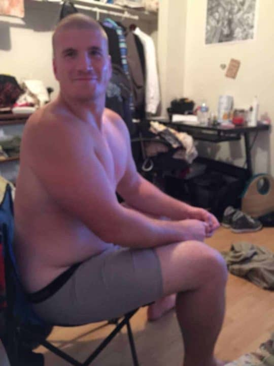Chris Before Bodybuilding