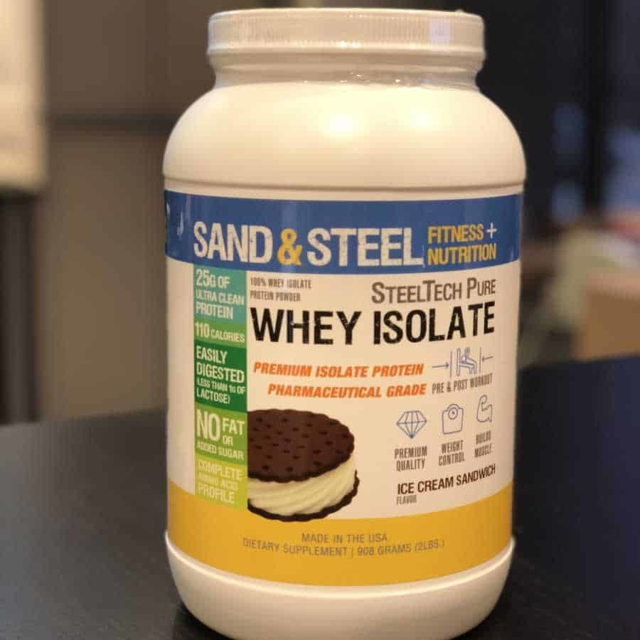 Protein Powder Whey Isolate