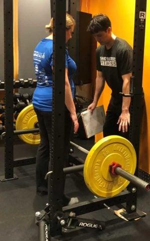 Fabian Personal Trainer Rack Pull