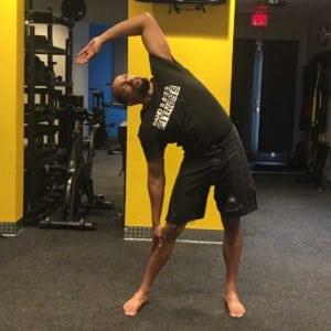 Swaying Palm Tree Pose - Tiryak Tala-Vrikshasana - Private Yoga Lessons