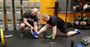 Yoga Wheel Hamstring