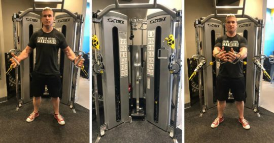 Cable Flys Chest Flys Functional Trainer