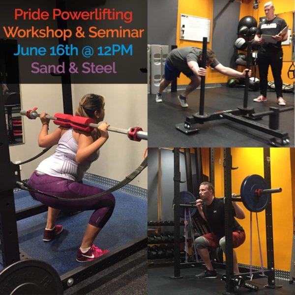 Pride Powerlifting Seminar