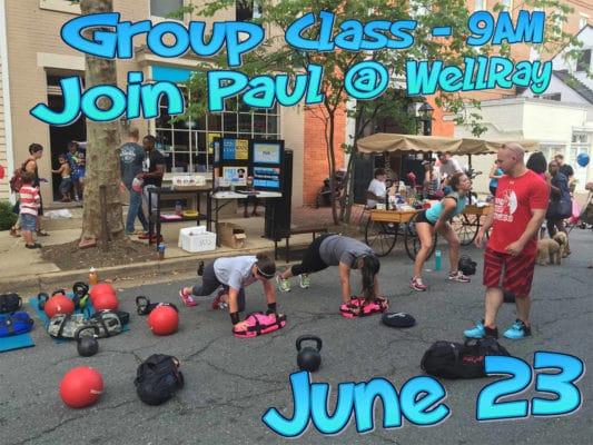 Wellray Delray Business Associate Group Class